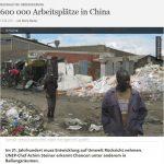 600 000 Arbeitsplätze in China - Merle Becker