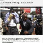 """Arabischer Frühling"" macht Schule - Merle Becker"