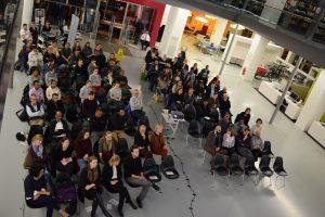 Ein Abend bei Opening Academia © Parwiz Rahimi