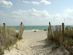 Ab an den Strand.