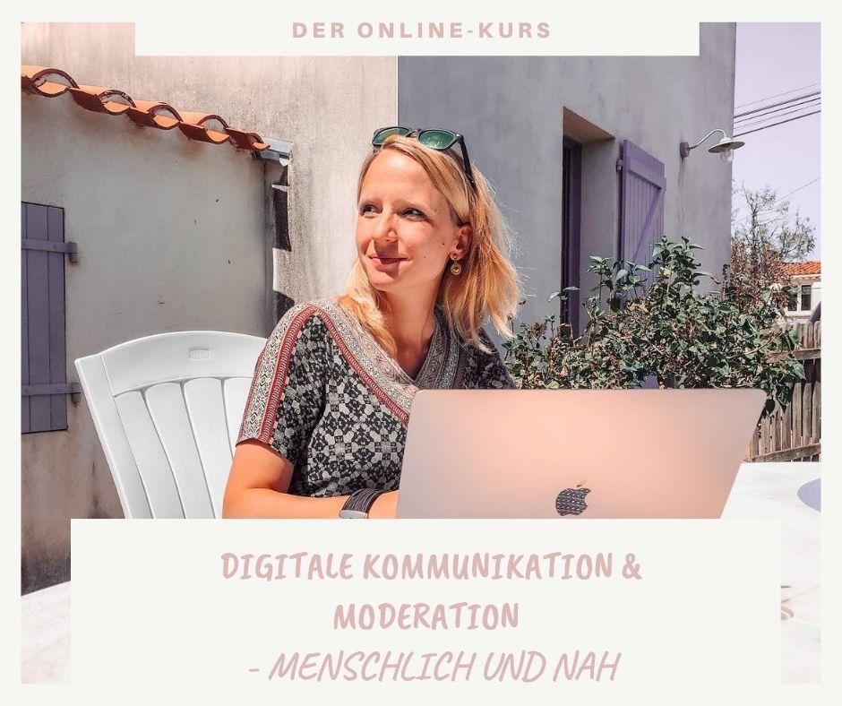 Der Online-Kurs für digitale Kommunikation und Moderation