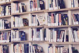 Ein volles Bücherregal. PC: Marisa Sias auf Pixabay